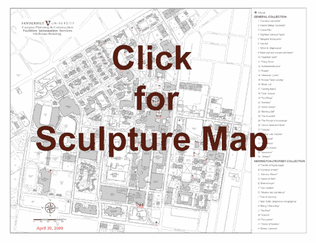 Campus Sculpture Map